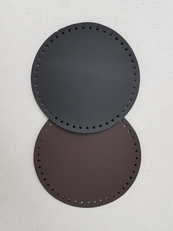 가죽 가방바닥 (원형)